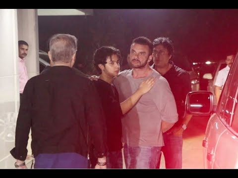 Download Big Fight At Salman Khan's Brother Sohail Khan Son Birthday Party !