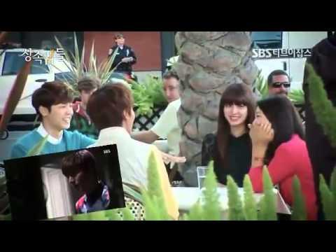 상속인   The Heirs   Heboh Ciuman Perpisahan Park Shin Hye dan Lee Min Ho