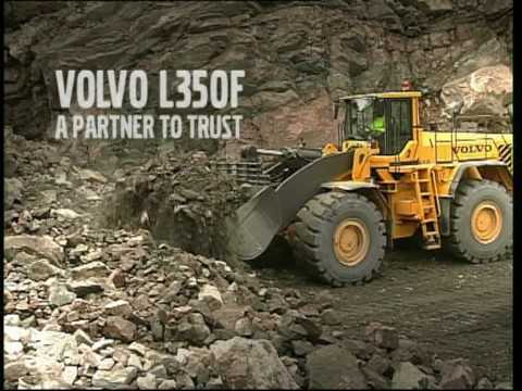 Volvo Wheel Loader L350F Presentation - YouTube