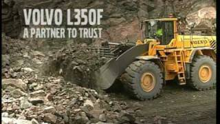 Volvo Wheel Loader L350F Presentation