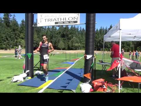 Whidbey Island Tri Video Finish 2017