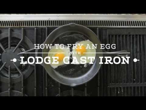 How To Fry An Egg In Cast Iron Skillet