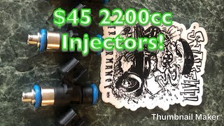 Snake Eater 2200cc Injectors Installed Into My Honda
