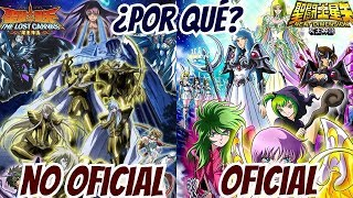 ¡¡Saint Seiya The Lost Canvas NO OFICIAL!!