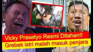 Vicky Prasetyo Resmi Ditahan, Angel Lelga Jebloskan Mantan Suami Ke Penjara, Ini Detik-detiknya...