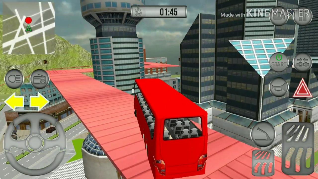 trò chơi học lái xe buýt thành phố -game xe buýt 2018