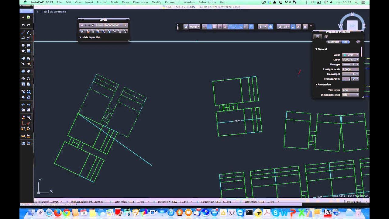 Rotazione oggetti autocad youtube for Cad 3d free italiano