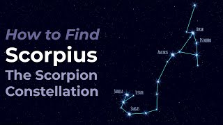 Scorpius the Scorpion - Constellation of the Zodiac