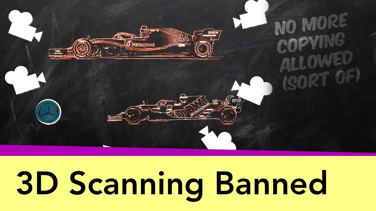 F1 Bans Copycats - the 3D Scanning techniques made illegal
