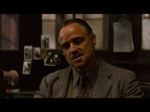 Don Corleone showing his negotiation skills