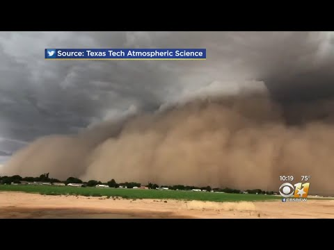 Check Out The Haboob In Lubbock