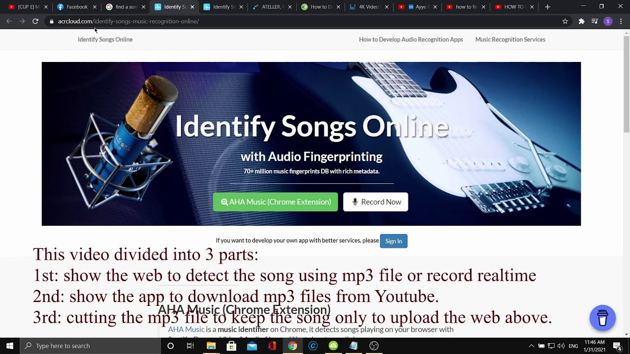 Find A Song Name That You Don T Know Online Youtube