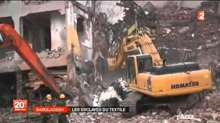 Bangladesh les suites de l'effondrement de l'immeuble