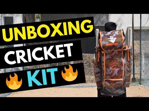 UNBOXING Cricket Kit Of My Cricket Buddy | Which Cricket Bat I Use????