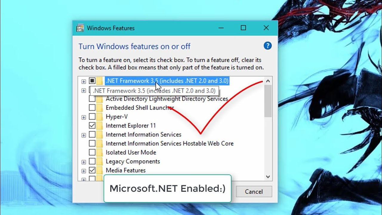 How To Enable / Install  NET Framework 3 5 On Windows 7,8 1,10 Offline  Using CMD