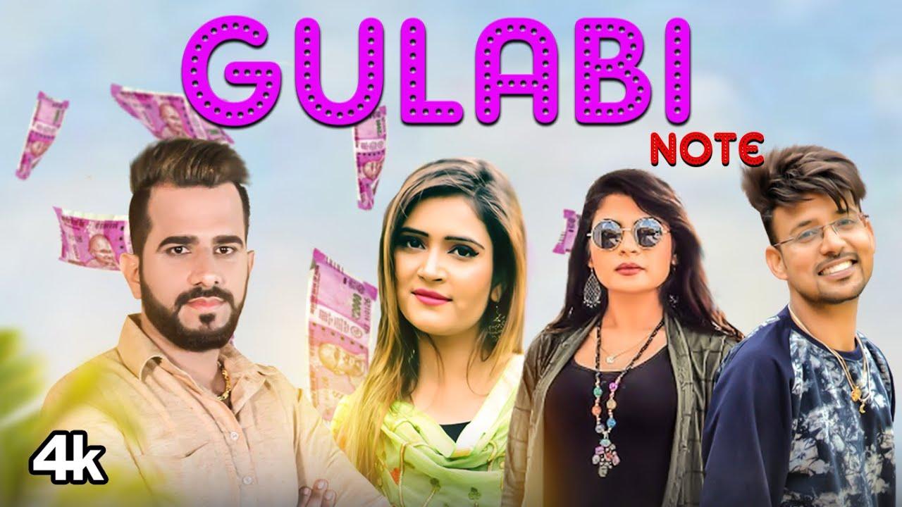 """Gulabi Note"" New Haryanvi Video Song 2020 Mr Boota, Anu Kadyan Feat. Vikas Kharakiya, Divya Jangid"