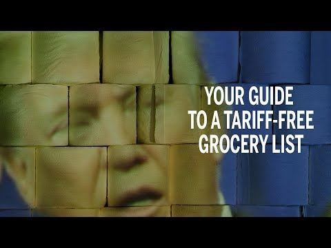 Your guide to a tariff-free Canadian grocery list