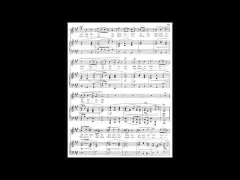 3 Alma del core (from 24 Italian Songs) piano melody with accompaniment