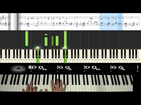 Piano piano tabs of thinking out loud : Ed Sheeran - Thinking out loud - backing track piano tutorial + ...