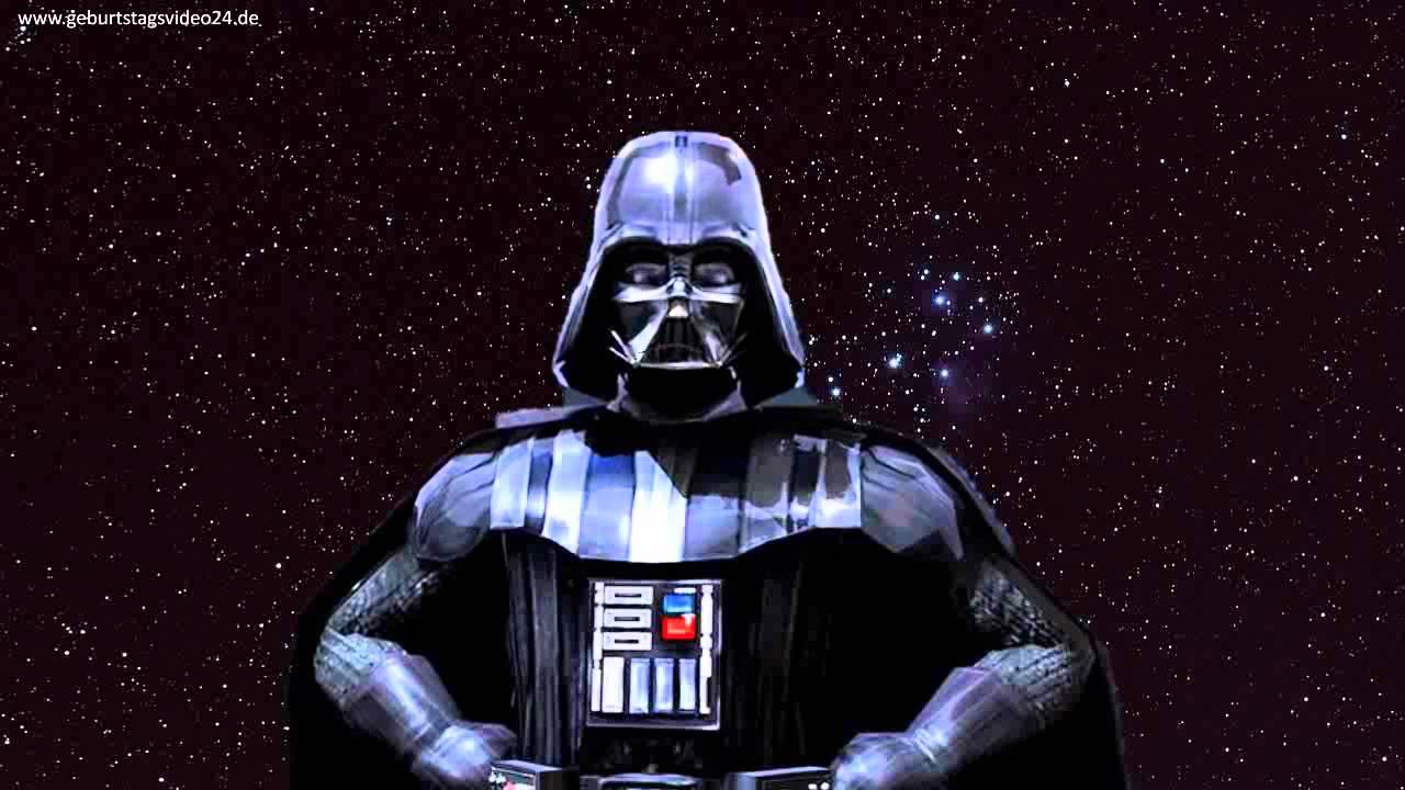 Geburtstagsstandchen Von Darth Vader Youtube