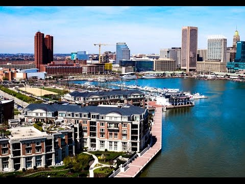 THE RITZ CARLTON RESIDENCES 801 KEY HIGHWAY UNIT T51.  BALTIMORE.MD (4K)