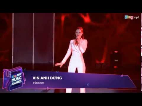 [ZING MUSIC AWARDS 2017] Xin Anh Đừng (Remix)   Đông Nhi   240118