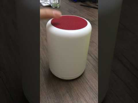 APPO Wireless Bluetooth Speaker Y02 With Touching Sensible Table Lamp (Multible Color )