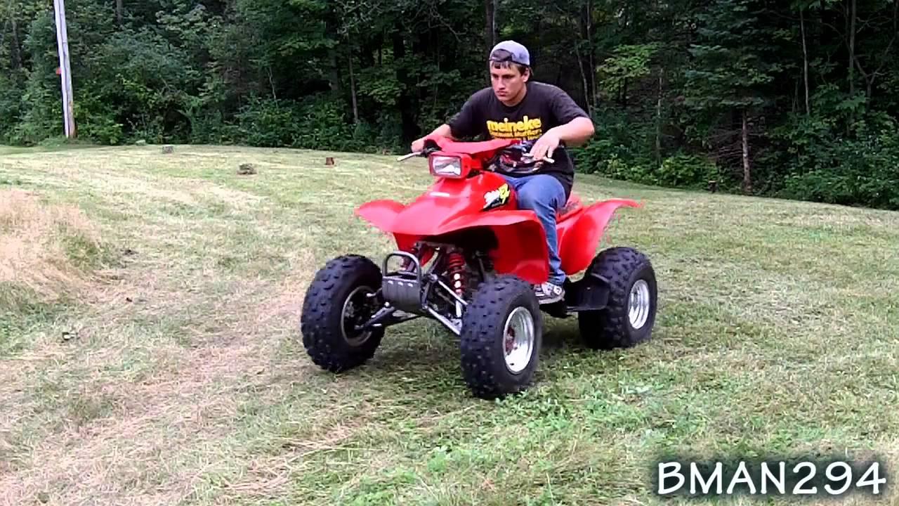 Honda 300ex - YouTube