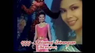 Miss Thailand 1954-2011 in Miss Universe Tribute