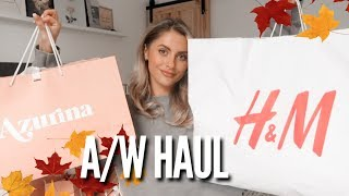 A/W HAUL & TRY ON - H&M, ASOS & AZURINA   Fashion Influx