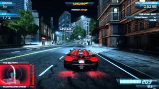 Need for Speed Most Wanted 2012 - Koenigsegg Agera R Gameplay