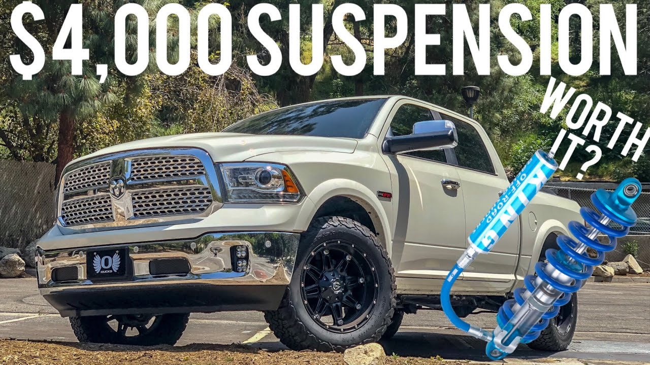 Dodge Ram 2500 Suspension Upgrade