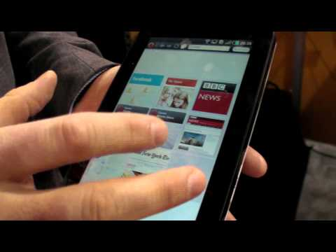 Opera Browser for Android Tablets