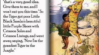Little Black Sambo - Children's Interactive Storybook (Flip-book)
