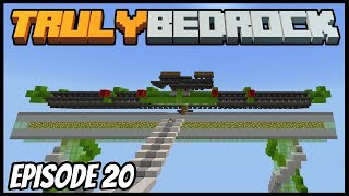 60 Furnace Smelting Array! - Truly Bedrock (Minecraft Survival Let's Play) Episode 20