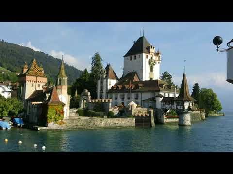 meine Bootsfahrt zum Thunersee My boat trip on Lake Thun