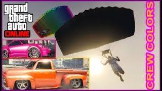 GTA 5 Online I INSANE & NEW I Modded Crew Colors I PAINT