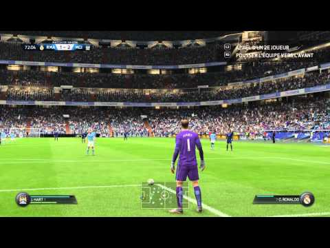 FIFA 16 PS4 Real Madrid - Manchester City Online Coop Gameplay 2/2