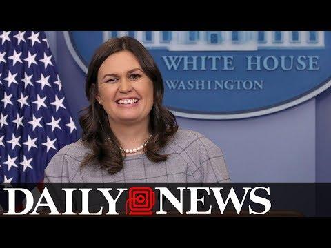Sarah Huckabee Sanders says Nancy Pelosi 'should smile\' more