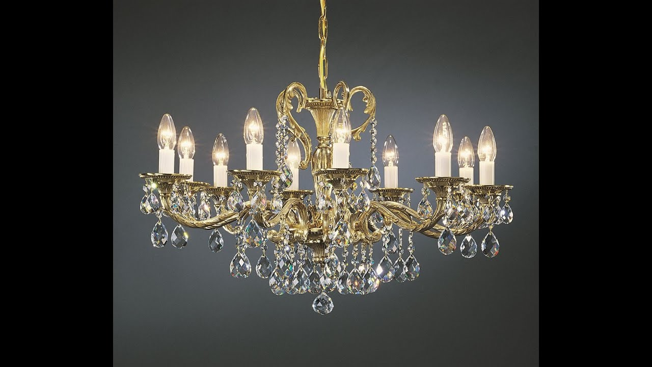 Crystal Chandelier Youtube: PRECIOSA, Elite Bohemia Crystal Chandeliers In Miami