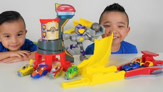 Paw Patrol Mighty Pups Charged Up Mighty Meteor Track Set CKN Toys