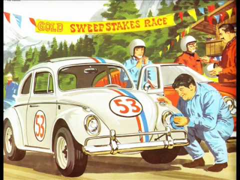 Walt Disney Love Bug Record