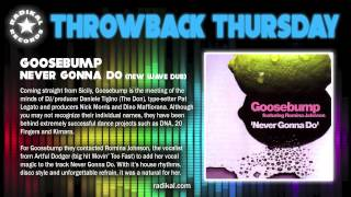 Goosebump - Never Gonna Do (New Wave Dub) 2001 - RADIKAL RECORDS THROWBACK THURSDAY