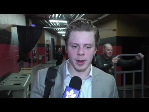 Kasperi Kapanen - Post Game Ottawa