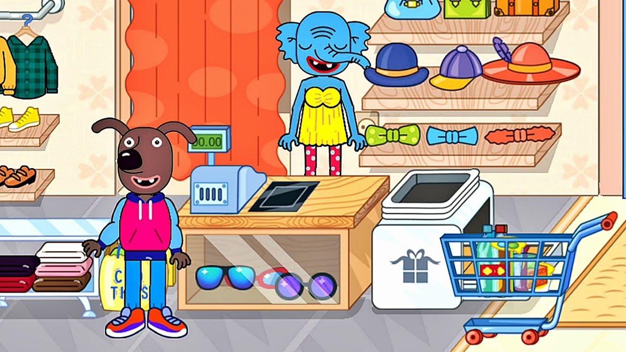 Einkaufszentrum Spiele