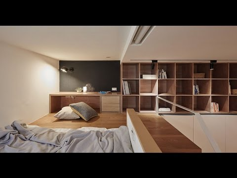 Tiny 22-Sqm Apartment Maximizes Space in Style. architect home design