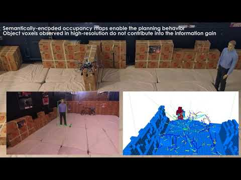 Autonomous Exploration and Simultaneous Object Search using Aerial Robots