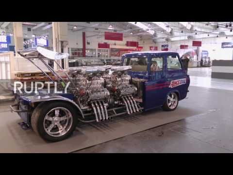 Germany: 4,000 bhp MONSTER on display at Essen Motor Show