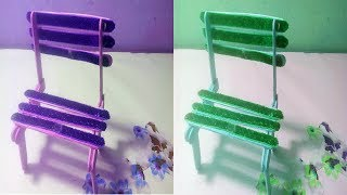 Tutorial Easy Chair Making at Home Simple and Easy DIY Chair || Crafts Design