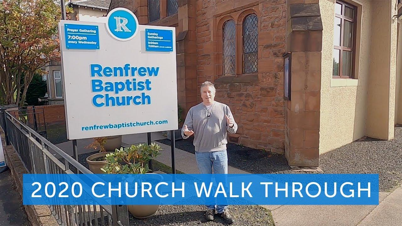 Renfrew Baptist Church - Walk Thru 2020